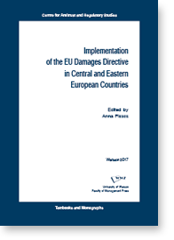 Harmonisation of Private Antitrust Enforcement: A Central and Eastern European Perspective